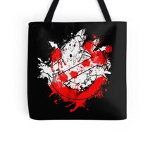 Ghostbusters Logo Paint Splatter Tote Bag