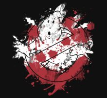 Ghostbusters Logo Paint Splatter One Piece - Short Sleeve