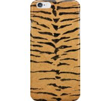 Gold Black Tiger Print iPhone Case/Skin
