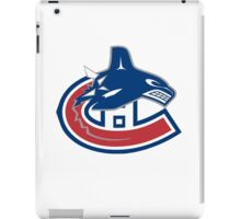 Vancouver Canucks - Montreal Canadiens Logomash iPad Case/Skin