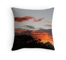Winter Sunrise. Throw Pillow