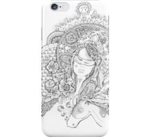 Victoria and the Horse iPhone Case/Skin