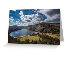 Lough Tay, Wicklow Mountains, Ireland Greeting Card