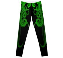 Green Tide Leggings