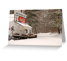 Rabbit Hash General Store in Kentucky Greeting Card