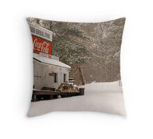Rabbit Hash General Store in Kentucky Throw Pillow