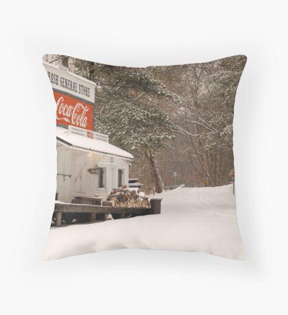 Rabbit Hash General Store in Kentucky Throw Pillow