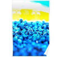Blue Blur Poster