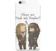 Dumb and Dumber iPhone Case/Skin