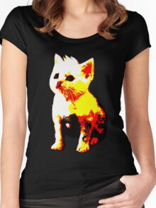 Tough Pussy Women's Fitted Scoop T-Shirt