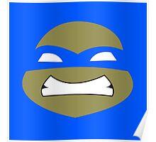 Ninja leonardo turtles Poster
