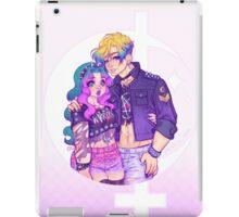 Pastel Goth Haruka & Michiru iPad Case/Skin