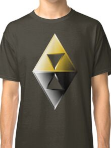 A Link Between Worlds Triforce Logo Classic T-Shirt