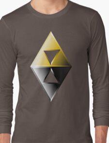 A Link Between Worlds Triforce Logo Long Sleeve T-Shirt