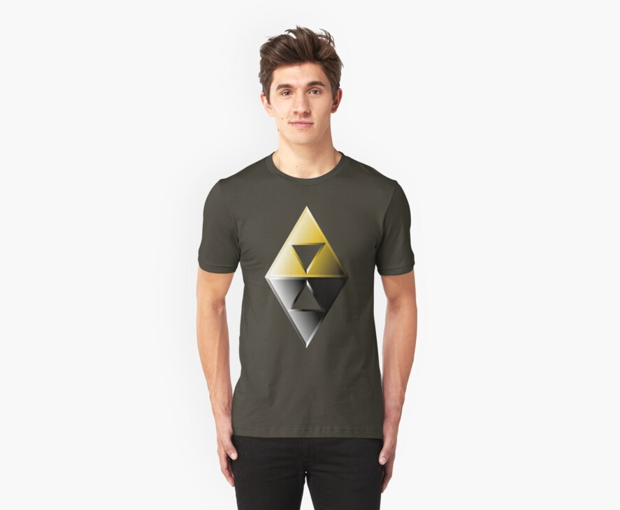 A Link Between Worlds Triforce Logo by thorbahn3