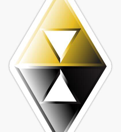 A Link Between Worlds Triforce Logo Sticker
