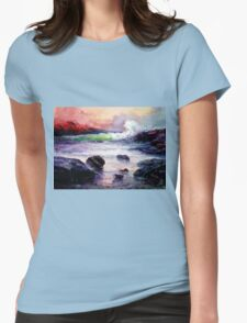 Fire and Water 1.0  Womens Fitted T-Shirt