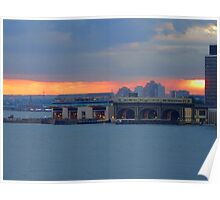 HOME OF THE STATEN ISLAND FERRY Poster
