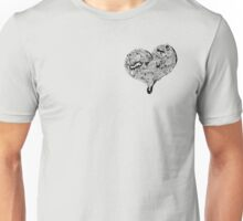 Heart Full graffiti love Unisex T-Shirt