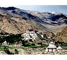 mountain temples. ladakh, india Photographic Print