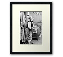 May I take your Order Framed Print