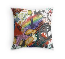 Conglomits Throw Pillow