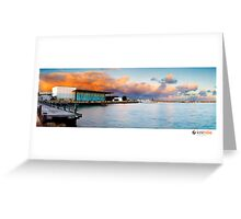 Geraldton Marina Greeting Card