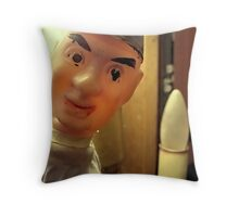 Excusez Moi Throw Pillow