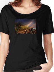 White Adirondacks Women's Relaxed Fit T-Shirt