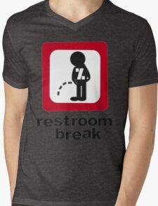 give ur self some break... Mens V-Neck T-Shirt