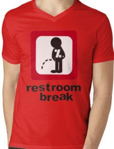 give ur self some break... Mens V-Neck T-Shirt