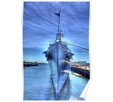 USS Cassin Young-1 Poster