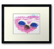 Look Who Came For A Visit! Framed Print