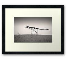 Mans Best Friend Framed Print