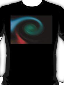 neonflash abstract art fabrics T-Shirt