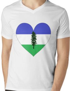 From Cascadia With Love Mens V-Neck T-Shirt