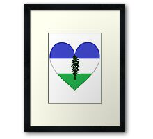 From Cascadia With Love Framed Print