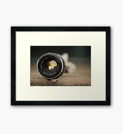 Reverse Photography Framed Print