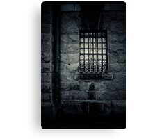 Gaol Window Canvas Print