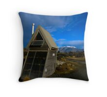 Toilet with a View Throw Pillow