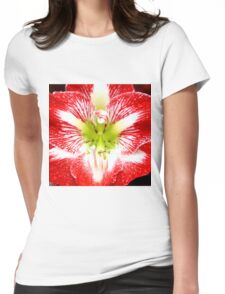 Amaryllis Ambush Womens Fitted T-Shirt