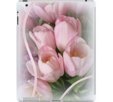 Pink Tulips iPad Case/Skin