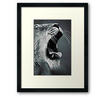 Yawn... Framed Print