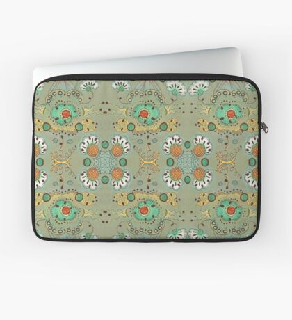 Flower in the Sky Pattern Laptop Sleeve