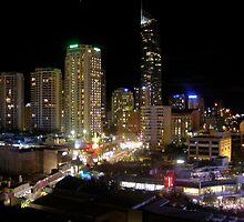 Gold Coast Lights by saazote