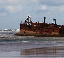 Maheno Wreck by DianaC