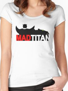 Mad Titan - Gem Color Variant  Women's Fitted Scoop T-Shirt