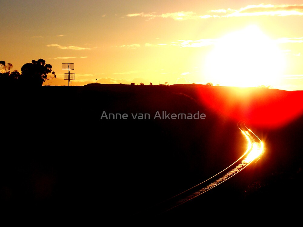 Tracks by Anne van Alkemade