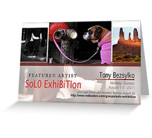 Tony Bezsylko Greeting Card