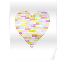 Heart Collage Poster